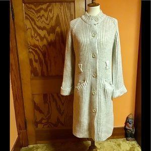 Vintage 70s bell sleeve Kmart retro sweater coat